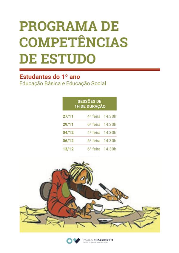 Cartaz Competências de estudo 19